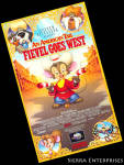 An American Tail Fievel Goes West Vhs