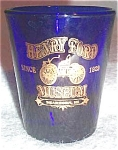 Henry Ford Museum Blue Shotglass