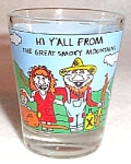 Great Smoky Mts Souvenir Shotglass