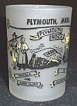 Plymouth Massachusetts Souvenir Shotglass