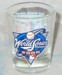 2000 World Series Shotglass