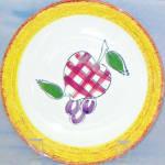 Blue Ridge Country Fruit Bread Plate