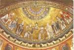 Rome Church St Mary Trastevere Mosaic Cs10559
