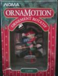 Noma Ornamotion Rotating Ornament Weather Watch 1989