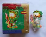 Garfield Elfish Antic 2005 Carlton Christmas Ornament