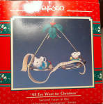 1990 All Eye Want For Christmas Enesco Ornament 2nd
