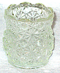 Daisy And Button Clear Votive