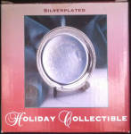 Silverplated Holiday Decrative Collectible Christmas