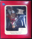 Baby Boy's First Chirstmas 1991 Carlton Cards Ornament
