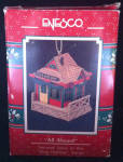 All Aboard Christmas Enesco Ornament 567671 Used