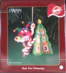 Tasty Tree Trimming Christmas Carlton Cards Holiday