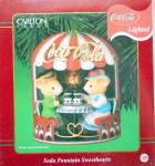 Soda Fountain Sweethearts Carlton Cards Holiday
