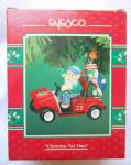 Christmas Tee Time Christmas Enesco Ornament Golf Cart