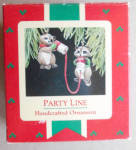 Party Line Raccoons Campbell Soup Hallmark Christmas