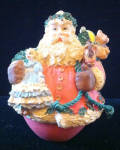 Jolly Holly Santa Keepsake Collector's Club Ornament