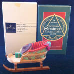 Sleighful Of Dreams Collector's Club Hallmark 1988