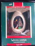 Winter Surprise Hallmark Christmas Ornament 1989