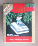 Santa's Answering Machine 1992 Hallmark Ornament Qlx724