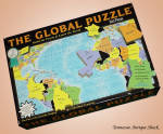 The Global Puzzle 600 Pieces World Map