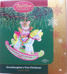 Granddaughter's First Christmas Carlton Cards Holiday