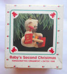 Baby's Second Christmas 1988 Hallmark Ornament Qx4711