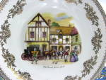 English Bone China Dinner Plate Old Coach House York England Decor