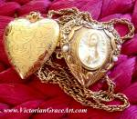 Our Lady Of Guadalupe Locket Prayer Petition Necklace