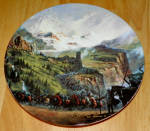 Collector Plate Lord Of The Rings Ride Of The Rohirrim