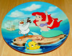 Collector Plate The Little Mermaid Visit To The Surface