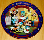 Disney Collector Plate Mickey's Birthday Party 1st Iss