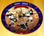 Disney Collector Plate Steamboat Willie 3rd Issue