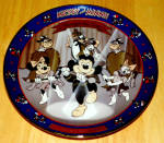 Disney Collector Plate Mickey Mouse Club 5th Issue