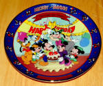 Disney Collector Plate Mickey's 65th Birthday 6th Issue
