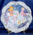 Disney Collector Plate Jewels Of Disney Series - 1st