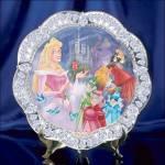 Disney Collector Plate Jewels Of Disney Sleeping Beauty