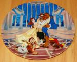 Disney Collector Plate Beauty Beast Love's First Dance