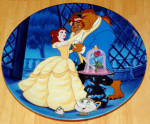 Disney Collector Plate Beauty Beast Learning To Love