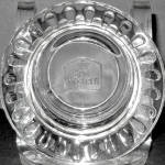 Best Western Clear Glass Ashtray