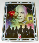 Franklin Mint Star Trek Villians Of The Galaxy Locutus Of Borg Plate
