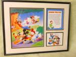 Walt Disney Framed Summer Time Fun