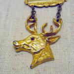 Vintage Past Exalted Ruler Bpoe Elk Pin