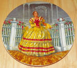 Gone With The Wind Collector Plate Melanie 1980