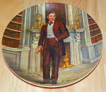 Gone With The Wind Collector Plate Rhett 1981