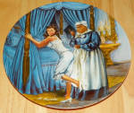 Gone With The Wind Collector Plate Mammy Lacing Scarlett