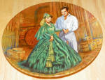 Gone With The Wind Collector Plate Scarlet's Green Dress