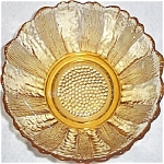 Hocking Country Estate Gold Salad Bowl