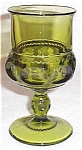 Colony Color Crown Green Goblet