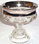 Colony Silver Crown Platinum Compote