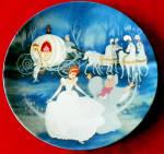 Disney Collector Plate Cinderella Bibbidi, Bobbidi, Boo