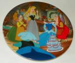 Disney Collector Plate Happy Birthday, Briar Rose Sleeping Beauty